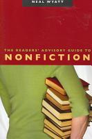 The Readers  Advisory Guide to Nonfiction PDF