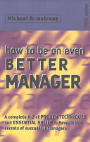 How to be an Even Better Manager PDF