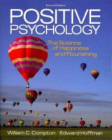 Positive Psychology  The Science of Happiness and Flourishing PDF