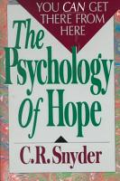 The Psychology of Hope PDF