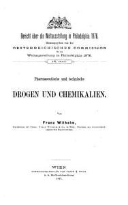 Pharmaceutische und technische Drogen und Chemikalien PDF