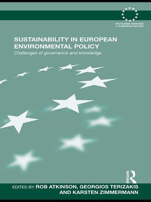 Sustainability in European Environmental Policy PDF