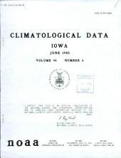 Climatological data: Iowa, 第 94 卷,第 6 期