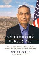 My Country Versus Me
