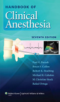 Handbook of Clinical Anesthesia PDF