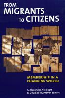 From Migrants to Citizens PDF