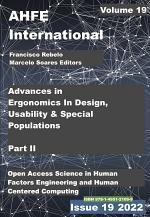 Advances in Ergonomics In Design, Usability & Special Populations: Part II