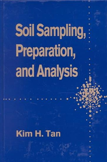 Soil Sampling  Preparation  and Analysis PDF