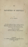 The Daughters of Merville PDF