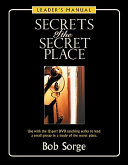 Secrets of the Secret Place  Leader s Manual Book