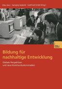 Bildung f  r nachhaltige Entwicklung PDF