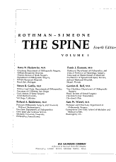 Rothman Simeone  the Spine PDF