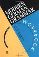 Modern German Grammar Workbook PDF