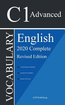 English C1 Advanced Vocabulary 2020 Complete Revised Edition