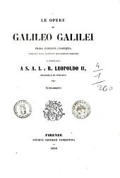 Le opere di Galileo Galilei: Supplemento, Volume 16