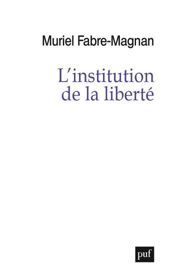 L institution de la libert   PDF