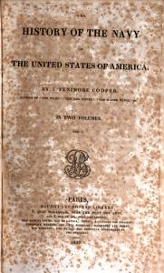 The History of the Navy of the United States of America Book