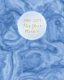2019-2023 Five Year Planner Blue Marble
