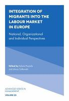 Integration of Migrants into the Labour Market in Europe PDF