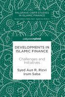 Developments in Islamic Finance PDF