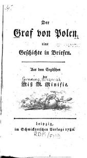 Der Graf von Polen: eine Geschichte in Briefen. Aus dem Englischen