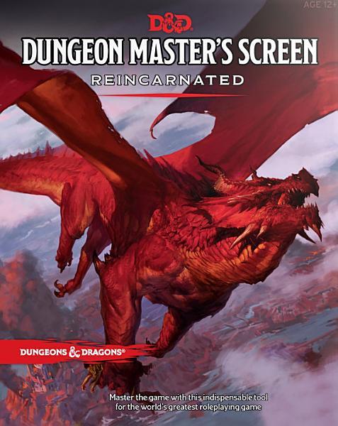Download Dungeon Master s Screen Reincarnated Book