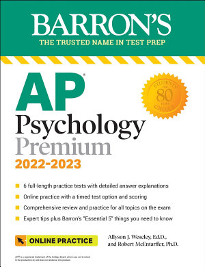 AP Psychology Premium  With 6 Practice Tests