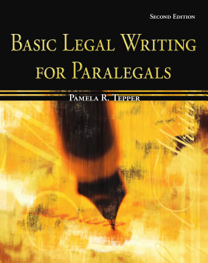 Basic Legal Writing for Paralegals PDF