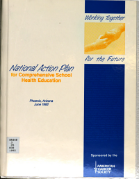 National Action Plan for Comprehensive School Health Education Book