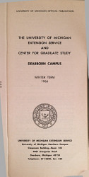 University Of Michigan Official Publication Book PDF