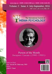 The International Journal of Indian Psychology, Volume 3, Issue 4, No. 57