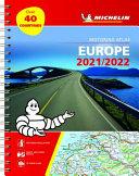 Europe Motoring Atlas 2021 Spiral