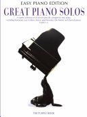 Great Piano Solos: The Purple Book (Easy Piano Edition)