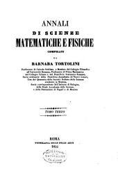 Annali di scienze matematiche e fisiche: Volume 3