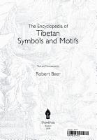 The Encyclopedia of Tibetan Symbols and Motifs PDF