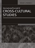 International Journal of Cross Cultural Studies  Vol 1  No 2 PDF