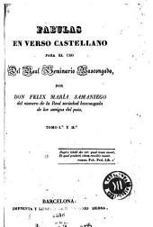 Fábulas en verso castellano: para el uso del Real Seminario Bascongado