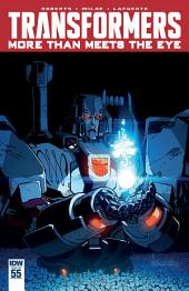 Transformers: More Than Meets the Eye #55
