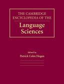 The Cambridge Encyclopedia of the Language Sciences PDF