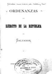 Ordenanzas del Ejército de la república del Salvador