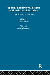 Special Educational Needs and Inclusive Education  Inclusive education Book