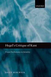 Hegel s Critique of Kant PDF