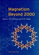 Magnetism Beyond 2000