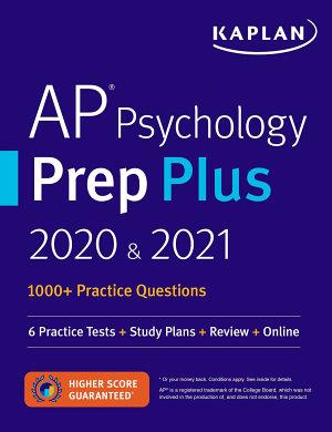 AP Psychology Prep Plus 2020   2021