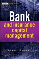 Bank and Insurance Capital Management PDF
