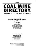 Coal Mine Directory  United States and Canada PDF