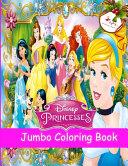 Princess Jumbo Coloring Book PDF