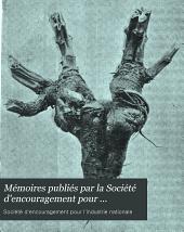 Mémoires publiés par la Société d'encouragement pour l'industrie nationale: Volumes1à2