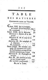 Oeuvres de Monsieur Tissot: contenant le traité de la catalepsie, de l'extase; de l'anaesthesie, de la migraine, et des maladies du cerveau, etc, Volume13