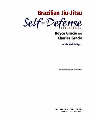 Brazilian Jiu Jitsu Self Defense Techniques PDF